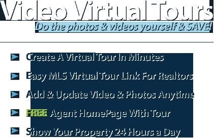 Video Virtual Tours - Do the photos & videos yourself & SAVE!